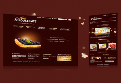 Croustipate - Sites Web et mobile - Web agency Paris