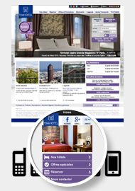 Timhotel - Sites Web et mobile - Web agency Paris