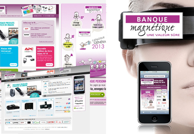 Banque Magnétique - Sites Web et mobile - Web agency Paris