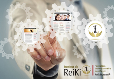 Institut de Reiki - Sites Web et mobile - Agence Interactive Paris