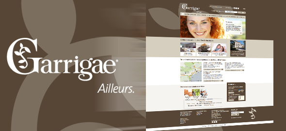 Garrigaë-Resorts - Sites Web et mobile - Agence Interactive Paris
