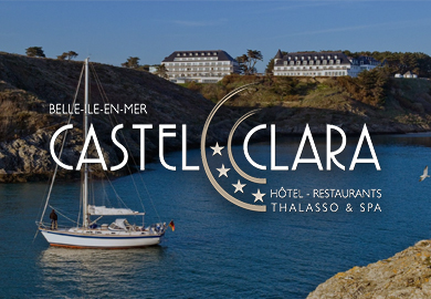 Castel Clara Thalasso & Spa**** - Sites Web et mobile - Agence Interactive Paris