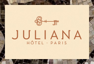 Hôtel Juliana***** - Sites Web et mobile - Web agency Paris