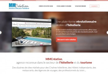 Solutions web hôtellerie - Agence digitale Paris