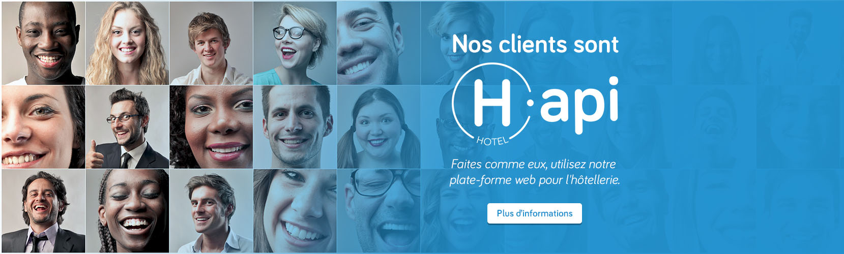 Agence web Paris - Solutions sites hôtel Hapi