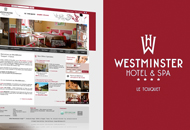 Hotel Westminster - Sites Web et mobile  - Agence web paris