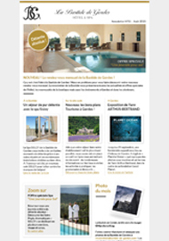 La Bastide de Gordes Hôtels & Spa - Newsletters et emailings  - Agence digitale Paris