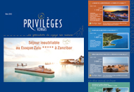 Privileges Voyages - Newsletters et emailings - Agence Interactive Paris