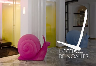 Hôtel de Noailles**** - Sites Web et mobile  - Agence web paris